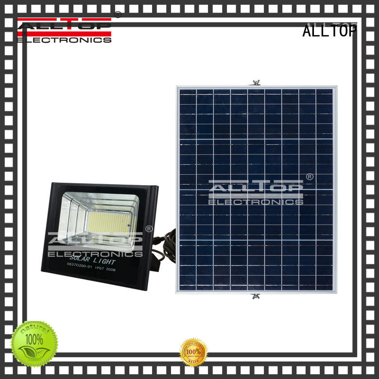 smd solar flood lights dc quality ALLTOP company