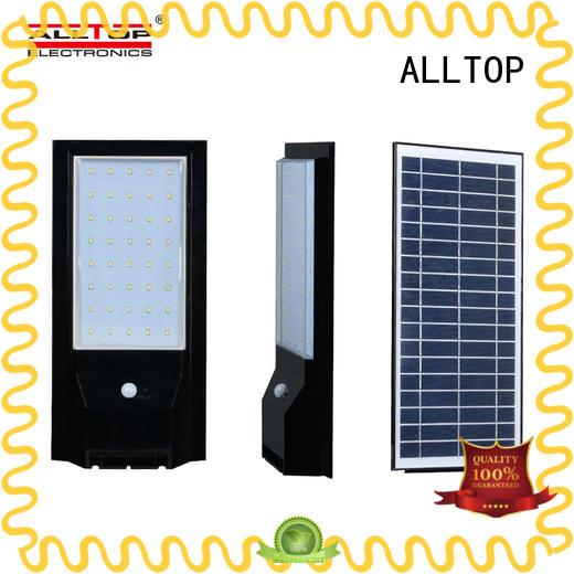 solar pir wall light aluminum highway lighting ALLTOP