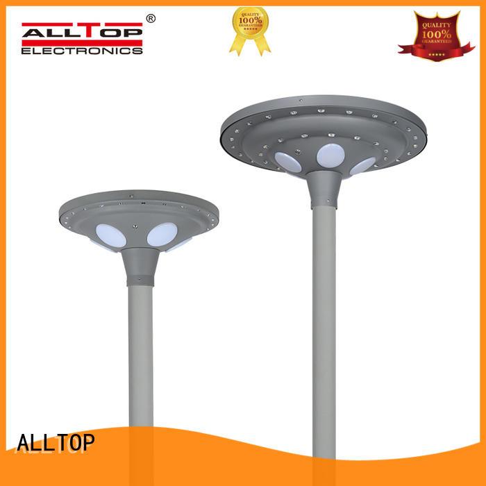 solar garden lamp post classical for decoration ALLTOP