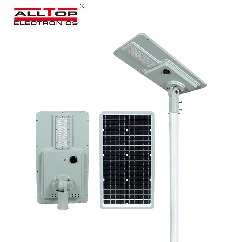 ALLTOP solar pole lights with good price for road-2