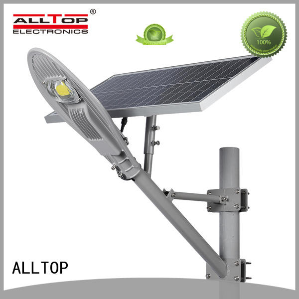 solar street lamp post die-casting for landscape ALLTOP