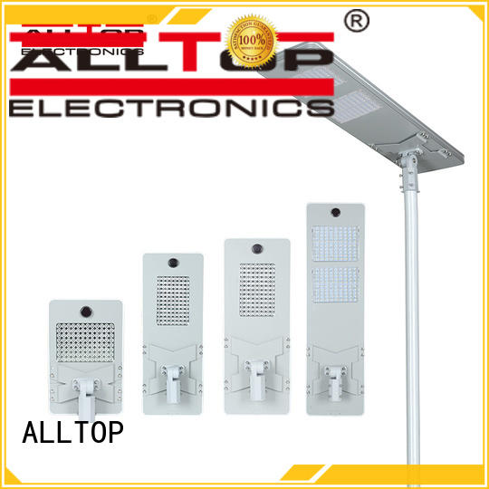 waterproof automatic solar street light factory manufacturer for garden