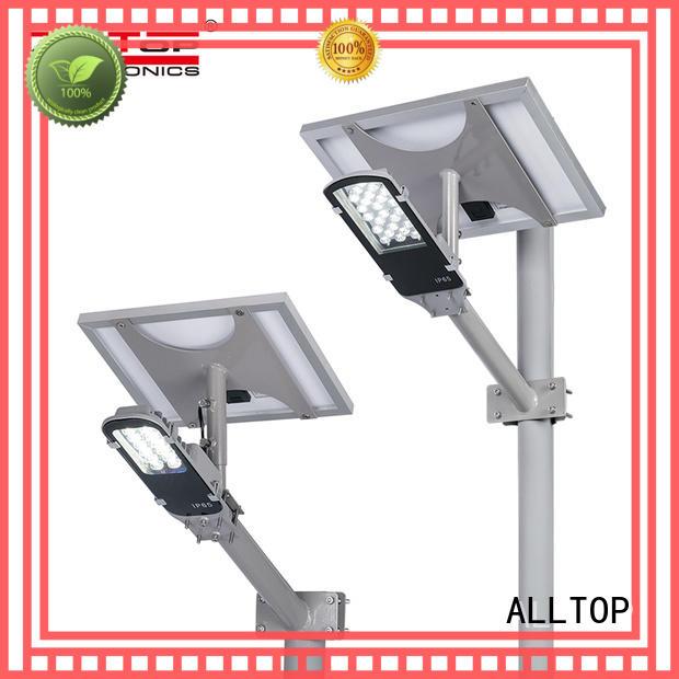 ALLTOP 30w solar street light supplier for outdoor yard