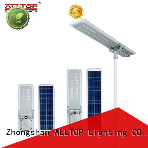 ALLTOP adjustable angle outside solar lights free sample for garden