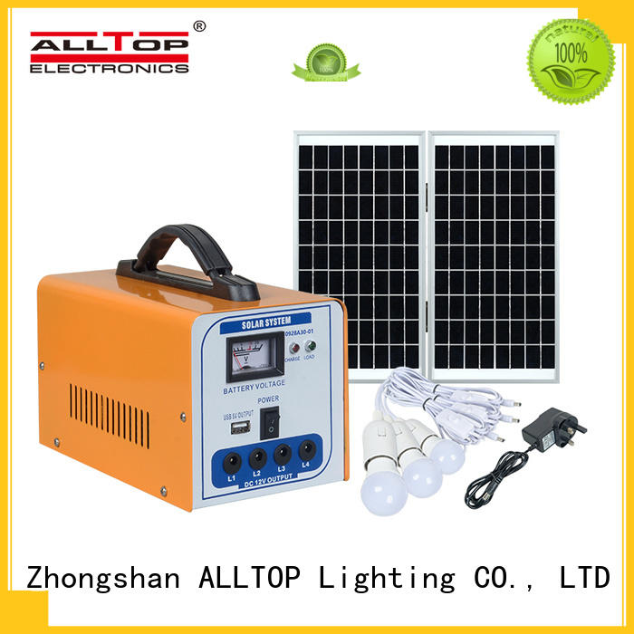 ALLTOP abs advantages of solar powered street lights with good price for home